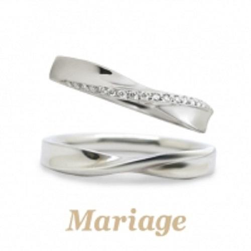 ゴージャスできれいなマリアージュ結婚指輪は大阪梅田garden9