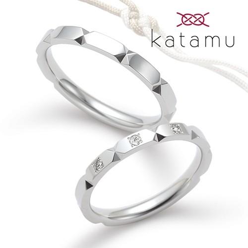 鍛造結婚指輪はカタム