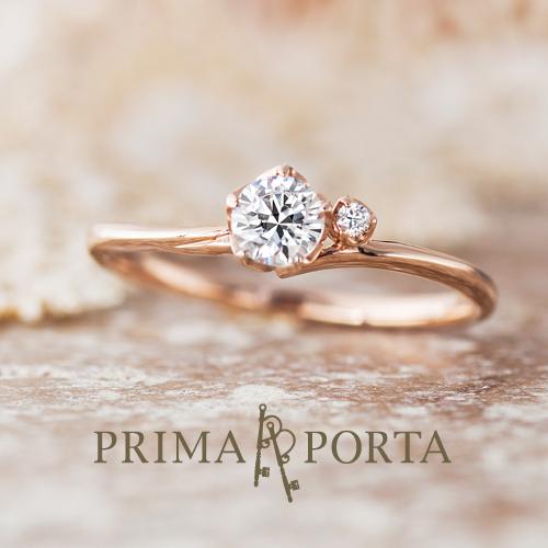 大阪梅田でかわいいピンクゴールド婚約指輪は関西最大級指輪専門店garden