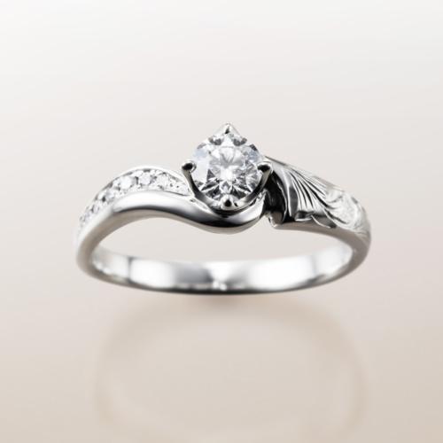 大阪梅田でハワイアンマカナ結婚婚約指輪を探すならgarden