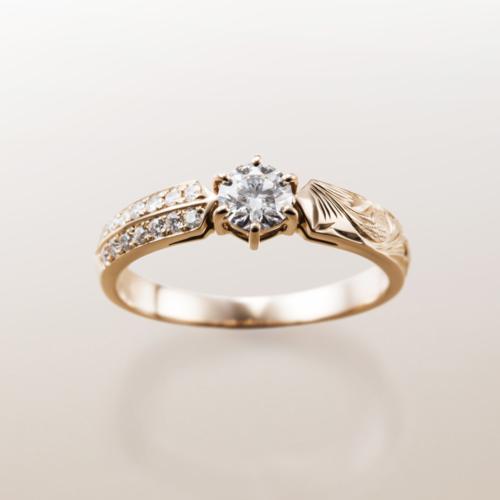 大阪梅田でハワイアンMakana結婚婚約指輪を探すならgarden
