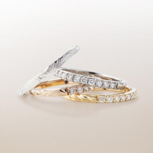大阪梅田でハワイアンマカナの結婚婚約指輪を探すならgarden