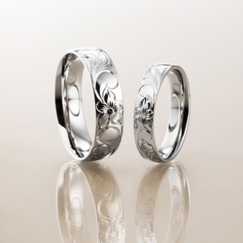 大阪梅田でハワイアンMakana結婚婚約指輪を探すならgarden10