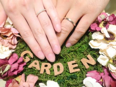 オシャレ指輪 Rosette(ロゼット)の結婚指輪 大阪箕面市