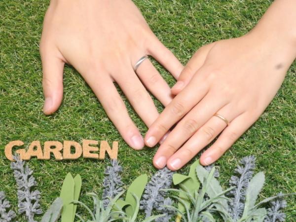 鍛造リング フィッシャーの結婚指輪