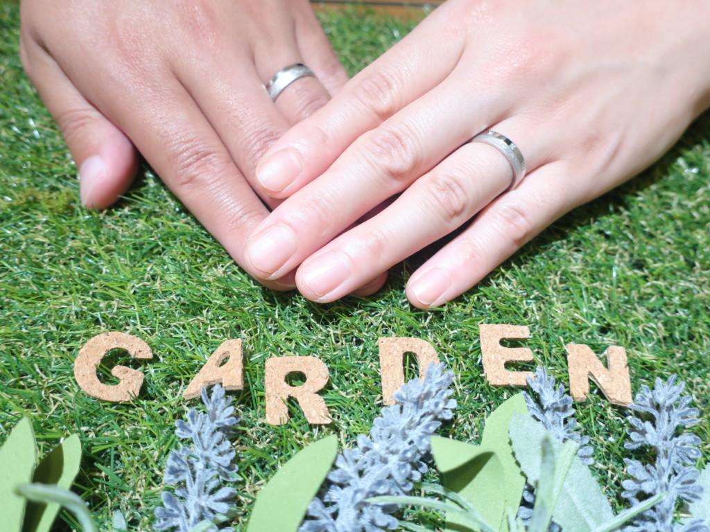 アレルギーフリーチタンの結婚指輪