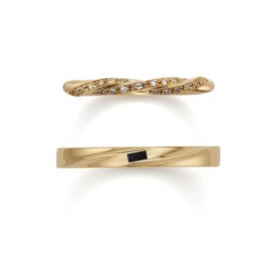 ORECCHIOオレッキオの結婚指輪9の1