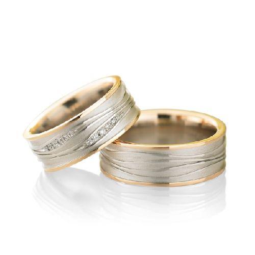ドイツの鍛造メーカーであるフィッシャー・FISCHERの結婚指輪で182シリーズ