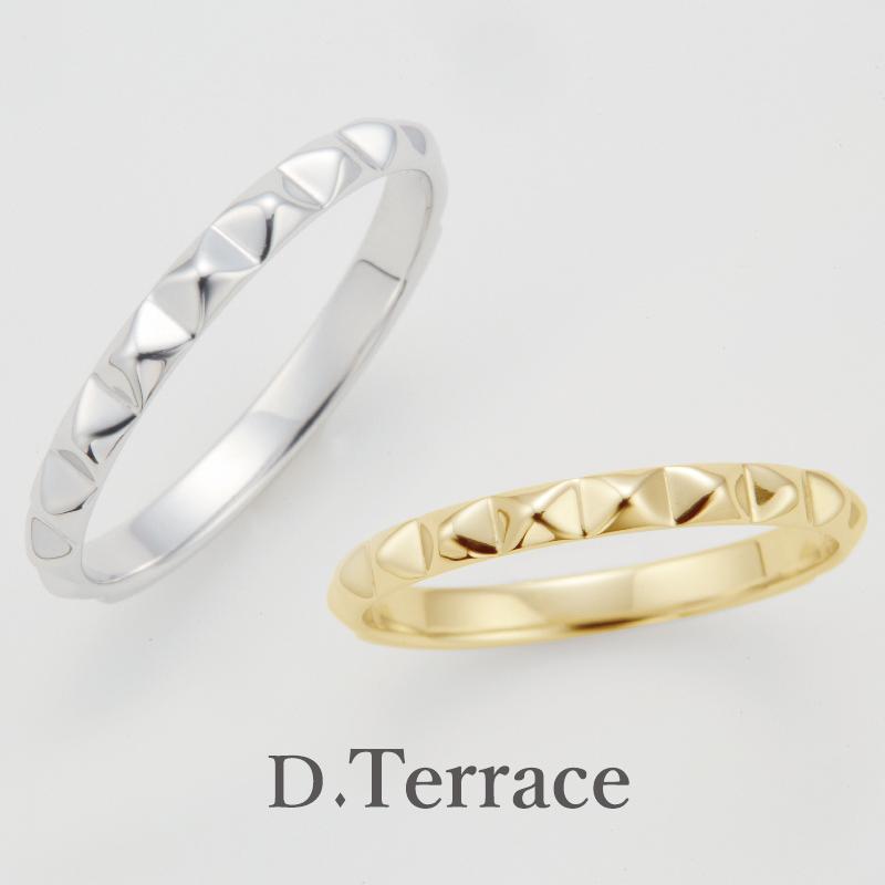 大阪梅田DTerraceの結婚指輪カテドラル