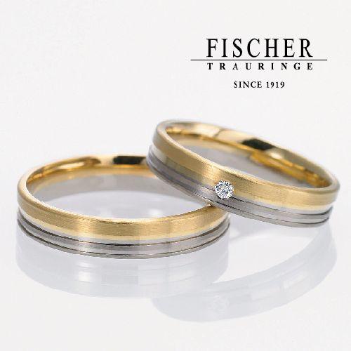 FISCHERフィッシャーの結婚指輪で168シリーズ