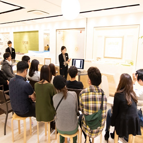 gardenフェスタ梅田の式場演出セミナー