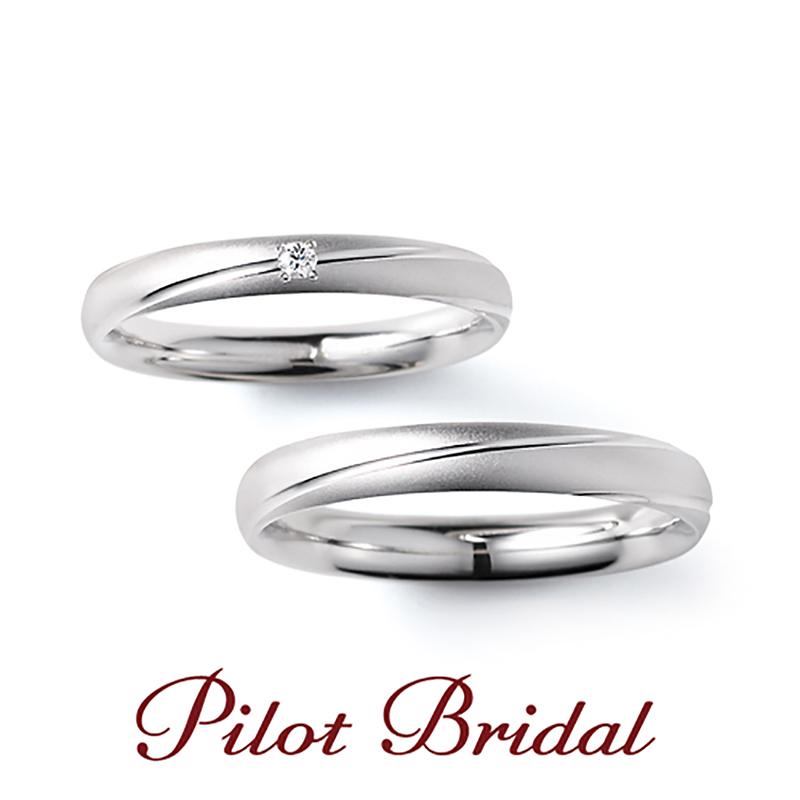 シンプルなパイロットの結婚指輪は大阪梅田garden