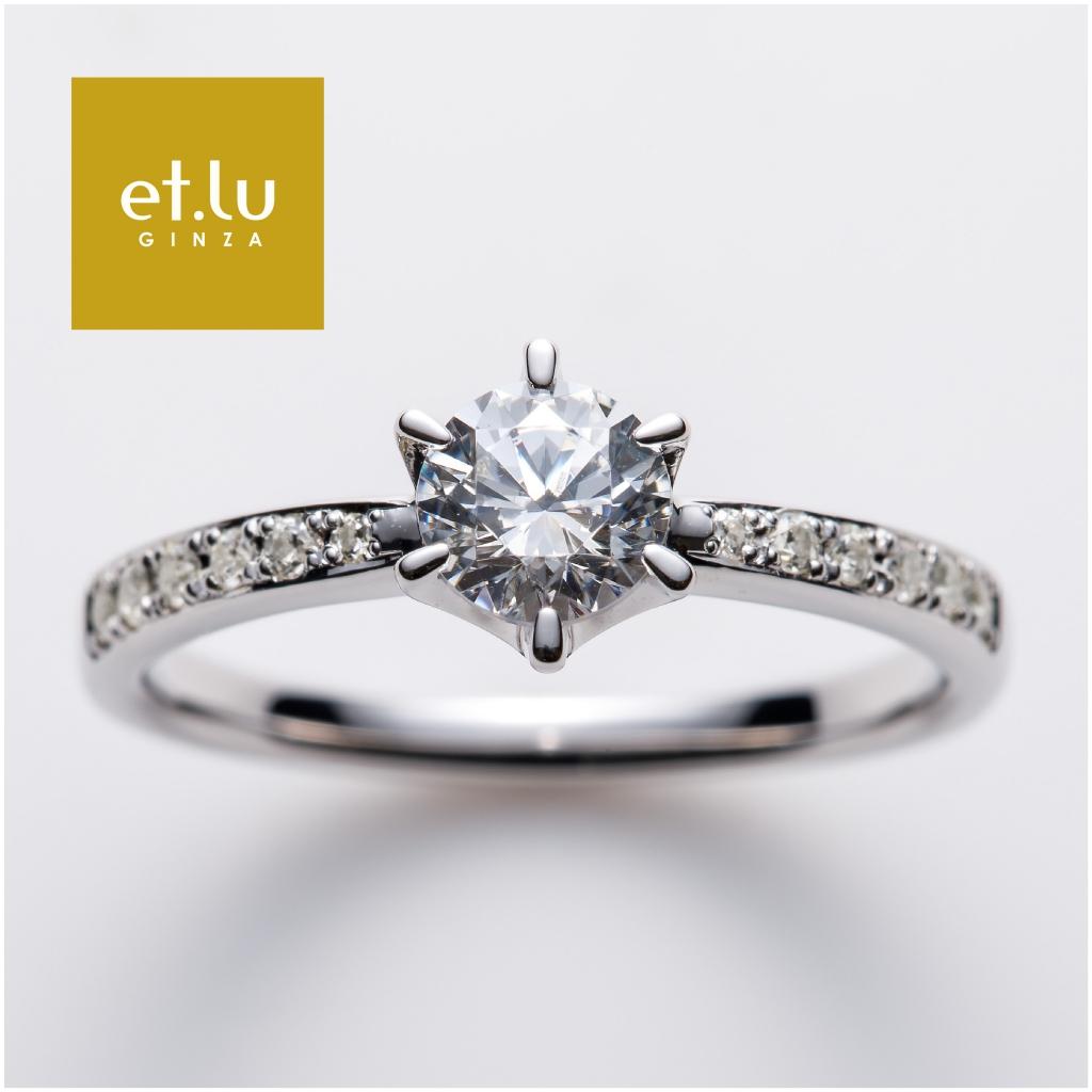 幅が広い太い高品質婚約指輪は関西最大級ブライダルリング専門店大阪のgarden梅田