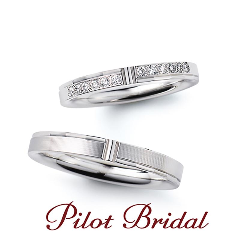 幅が広く太いパイロット結婚指輪は関西最大級ブライダルリングセレクトショップ大阪のgarden梅田