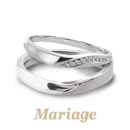 幅が広く太い高品質結婚指輪は関西最大級ブライダルリングセレクトショップ大阪のgarden梅田