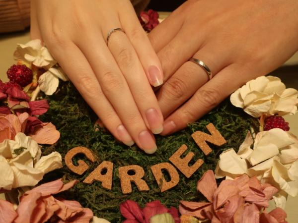 Rosetteとひなの結婚指輪 大阪市