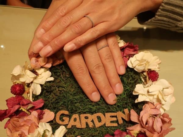 Rosetteの結婚指輪 奈良県生駒市/奈良県香芝市