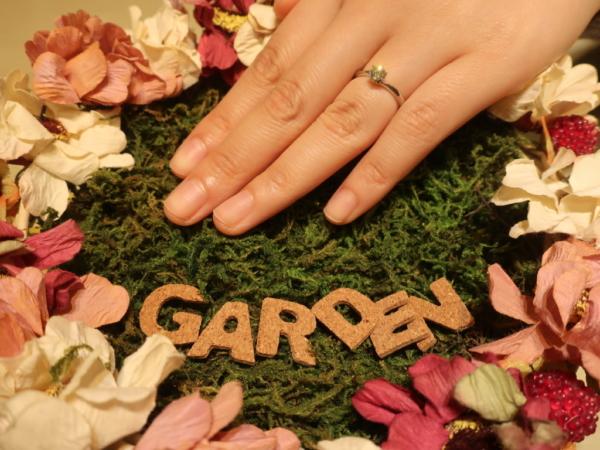 gardenオリジナル婚約指輪 兵庫県西宮市