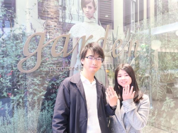 TITANIOの結婚指輪 京都府京都市