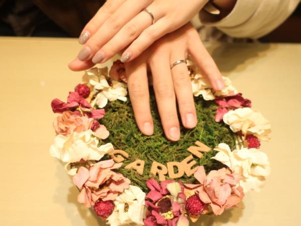 FISCHERの結婚指輪 大阪府寝屋川市