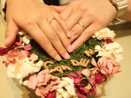 FISCHERとORECCHIOの結婚指輪 兵庫県伊丹市/大阪府箕面市