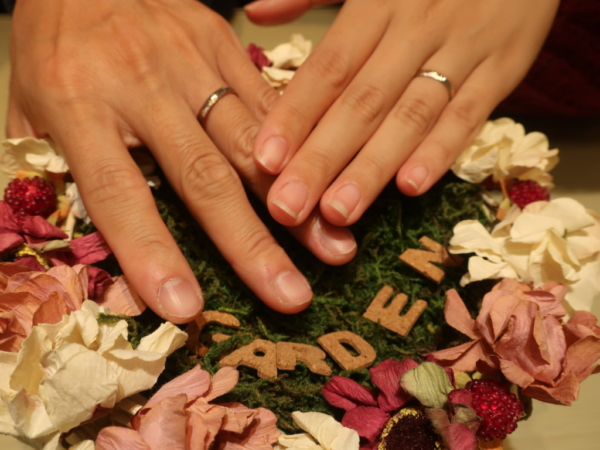 FISCHERの結婚指輪 大阪市藤井寺市