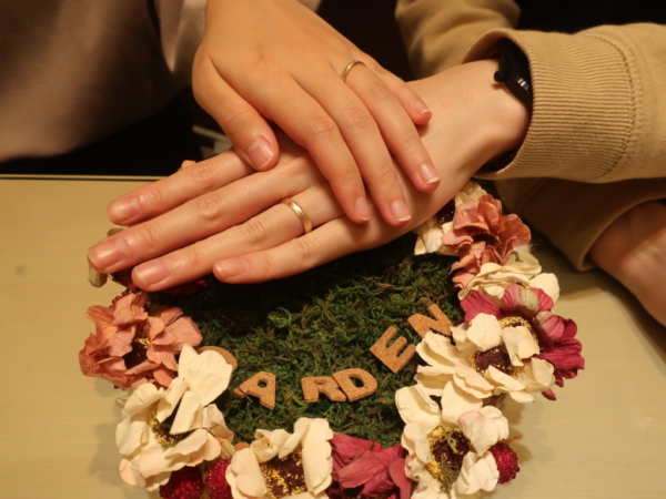FISCHERの結婚指輪 兵庫県神戸市