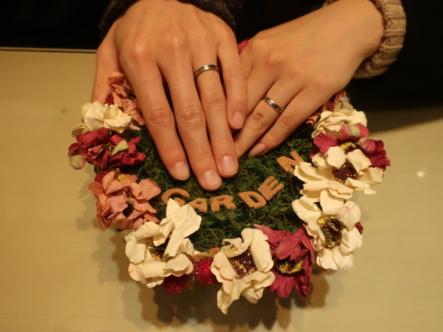 FISCHERの結婚指輪 大阪市/生駒市
