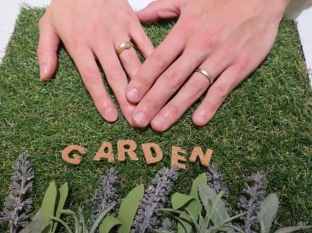 YUKA HOJOの婚約指輪と結婚指輪 滋賀県