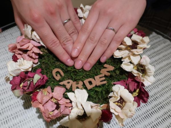 MILK&strawberryの結婚指輪 大阪府大阪市