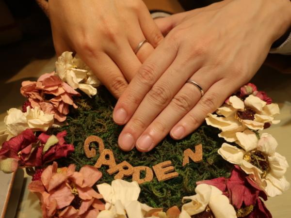 passageの結婚指輪 大阪府大阪市