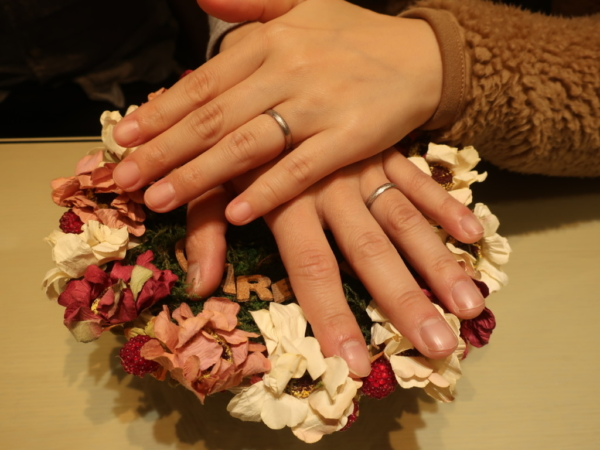 FISCHERの結婚指輪 大阪府池田市