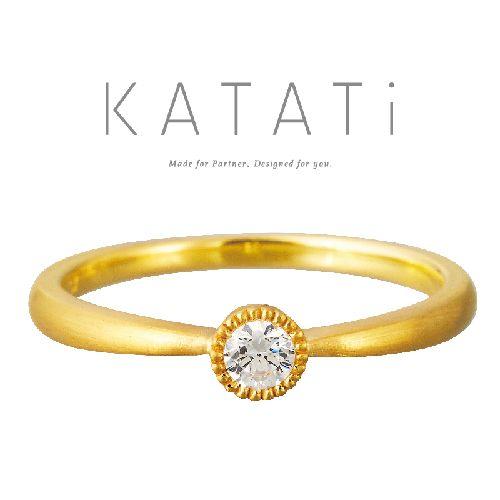 KATATiカタチの婚約指輪でMJK-11