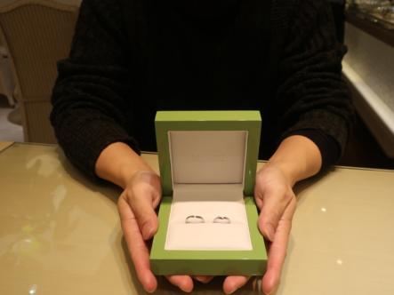 LAPAGEの結婚指輪 兵庫県尼崎市