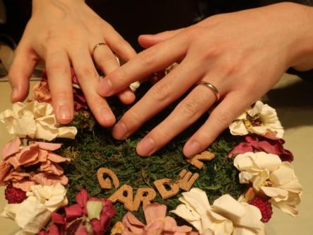 FISCHERの結婚指輪 大阪府吹田市