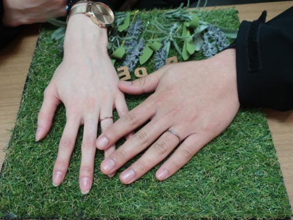 AMOUR AMULETの結婚指輪