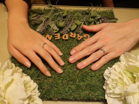 Disney aladdinの結婚指輪