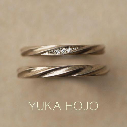 おしゃれな結婚指輪のYUKAHOJOでカレント