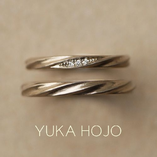 YUKAHOJO結婚指輪マットCurrent