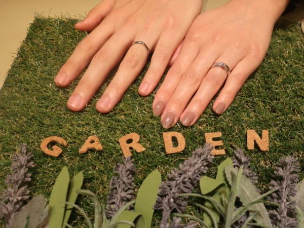 KATATiの婚約指輪とRosettEⅬifeの結婚指輪