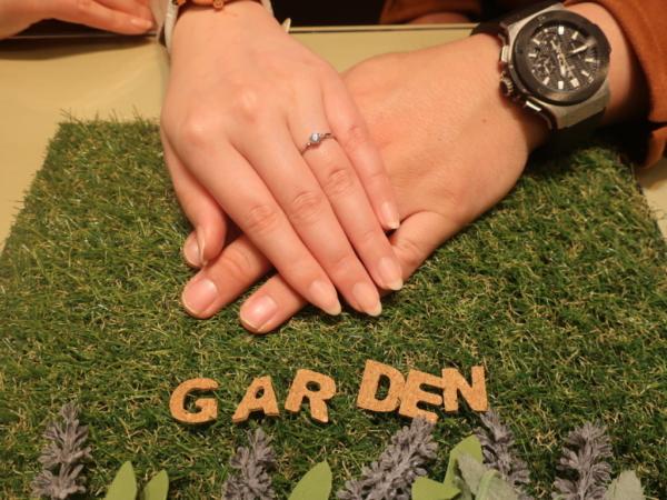 BAUMの婚約指輪 大阪府大阪市