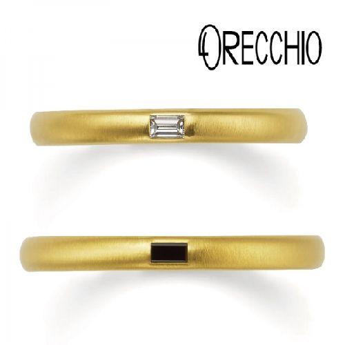 おしゃれ結婚指輪オレッキオ