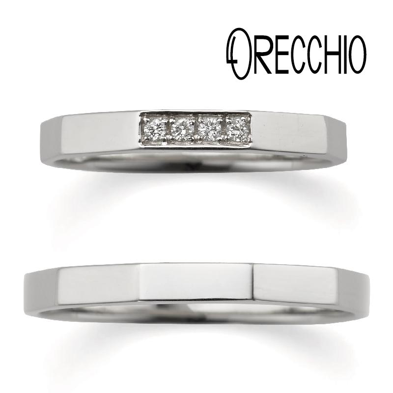 オレッキオおしゃれ結婚指輪