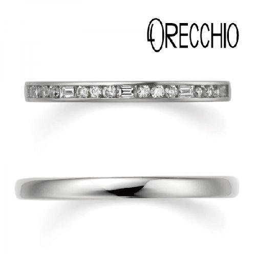 オレッキオエタニティリング結婚指輪