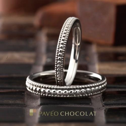 結婚指輪フォンテーヌPAVEOCHOCOLAT