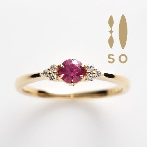 SOの婚約指輪でSO Happy LOve