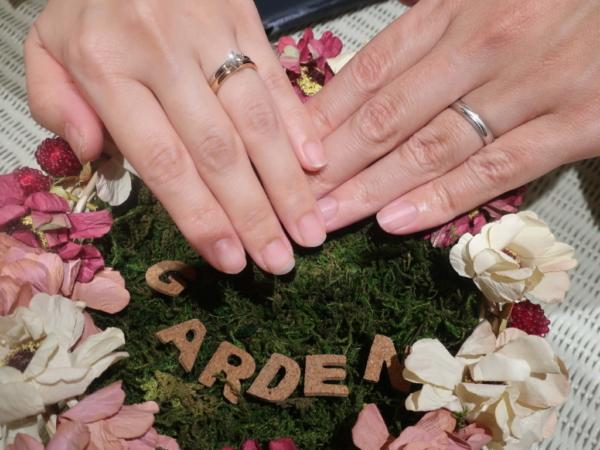 FISCHERの婚約指輪とFISCHERとRosettEの結婚指輪 兵庫県尼崎市