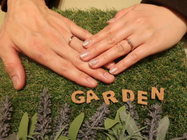 KATATiの婚約指輪とAMOUR AMULETとGRACEKAMAの結婚指輪