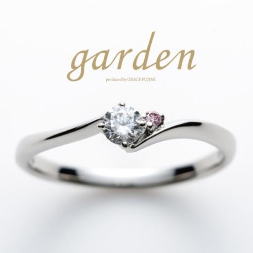 奈良でプロポーズするなら10万円以内の婚約指輪でgardenオリジナル2