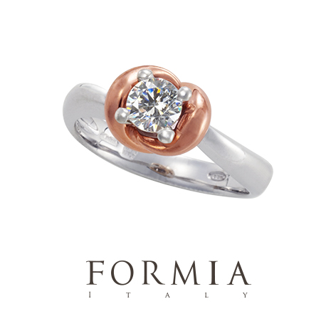 FORMIAの婚約指輪でシャルパロッサ